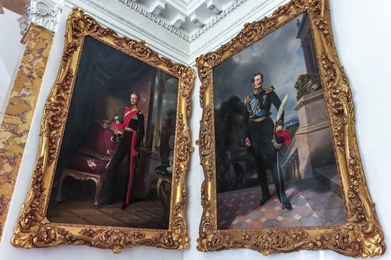 The interiors of the Alexander Palace in Tsarskoye Selo, Russia, photo 6