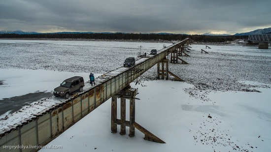 Kuandinsky Bridge, Zabaikalsky region, Russia, photo 1