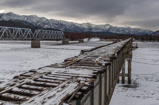 Kuandinsky Bridge, Zabaikalsky region, Russia, photo 2