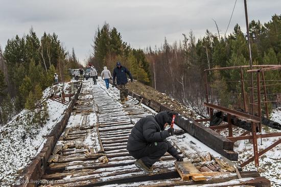Kuandinsky Bridge, Zabaikalsky region, Russia, photo 3