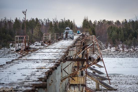 Kuandinsky Bridge, Zabaikalsky region, Russia, photo 4