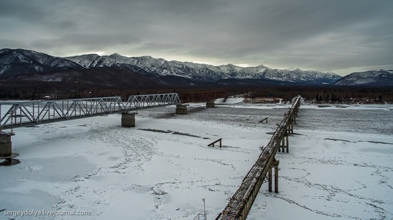Kuandinsky Bridge, Zabaikalsky region, Russia, photo 6