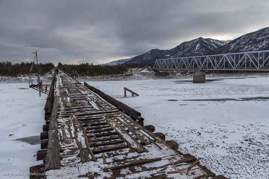 Kuandinsky Bridge, Zabaikalsky region, Russia, photo 7