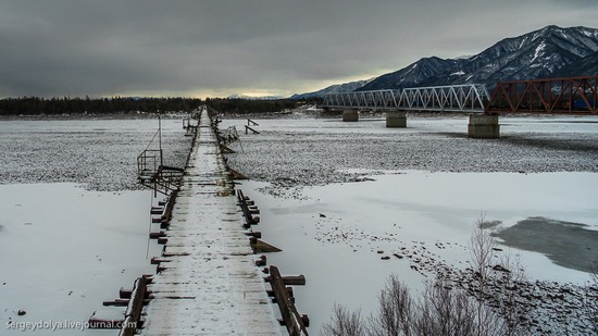 Kuandinsky Bridge, Zabaikalsky region, Russia, photo 9