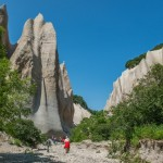 Kuthiny Baty – amazing pumice cliffs in Kamchatka
