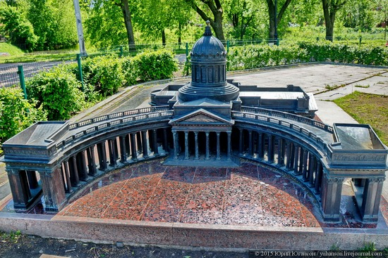 Miniature St. Petersburg in Alexander Park, Russia, photo 1
