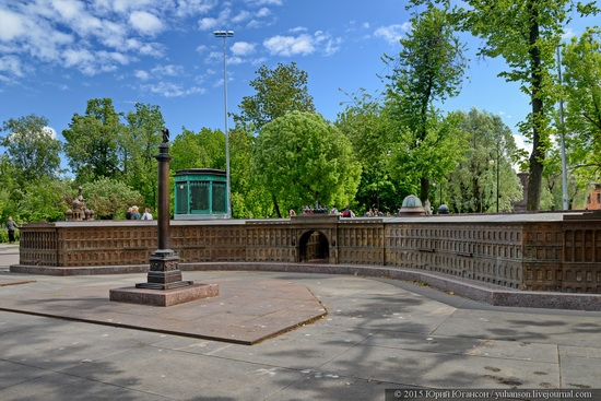 Miniature St. Petersburg in Alexander Park, Russia, photo 11