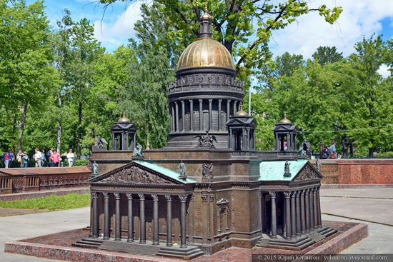 Miniature St. Petersburg in Alexander Park, Russia, photo 14