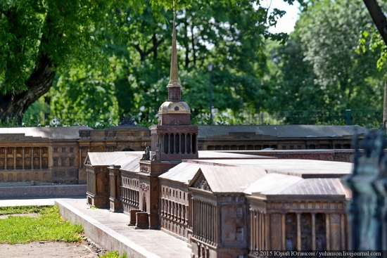 Miniature St. Petersburg in Alexander Park, Russia, photo 16