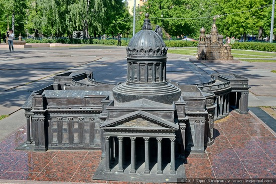 Miniature St. Petersburg in Alexander Park, Russia, photo 2