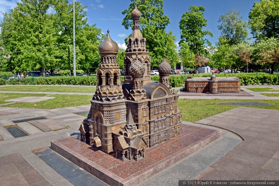 Miniature St. Petersburg in Alexander Park, Russia, photo 4