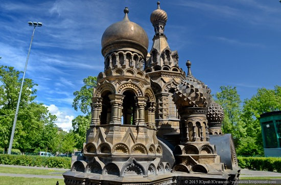 Miniature St. Petersburg in Alexander Park, Russia, photo 5