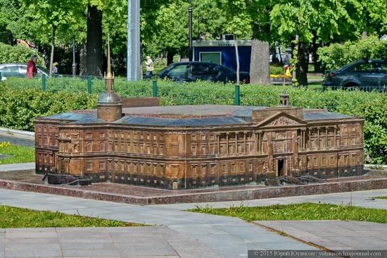 Miniature St. Petersburg in Alexander Park, Russia, photo 7