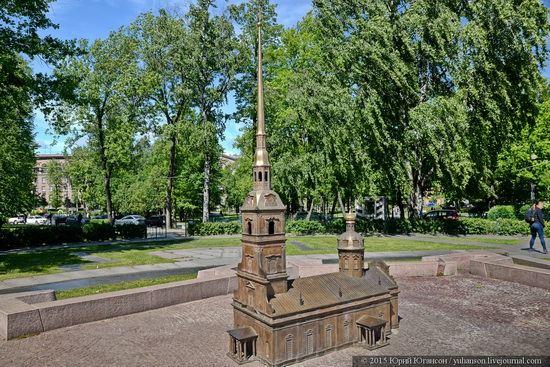 Miniature St. Petersburg in Alexander Park, Russia, photo 9