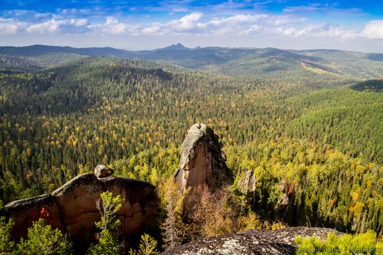 Nature reserve Stolby, Krasnoyarsk, Russia, photo 1