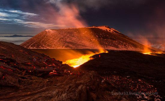Tolbachik volcano eruption, Kamchatka, Russia, photo 12
