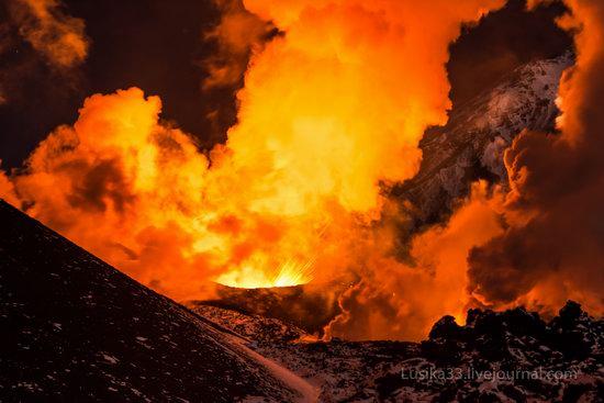 Tolbachik volcano eruption, Kamchatka, Russia, photo 13