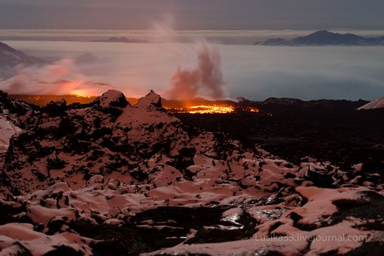 Tolbachik volcano eruption, Kamchatka, Russia, photo 15