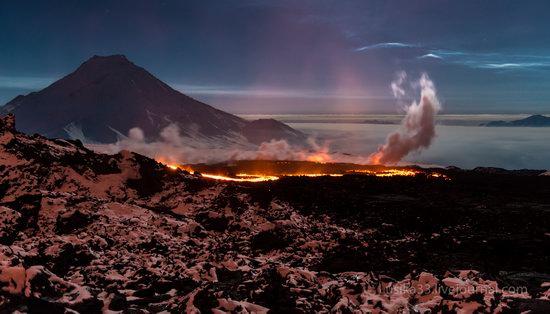 Tolbachik volcano eruption, Kamchatka, Russia, photo 16