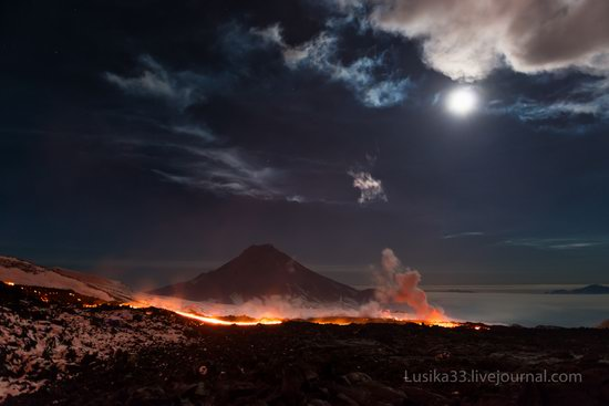 Tolbachik volcano eruption, Kamchatka, Russia, photo 17