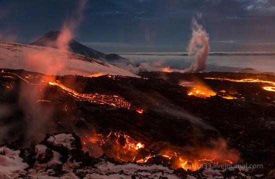 Tolbachik volcano eruption, Kamchatka, Russia, photo 19