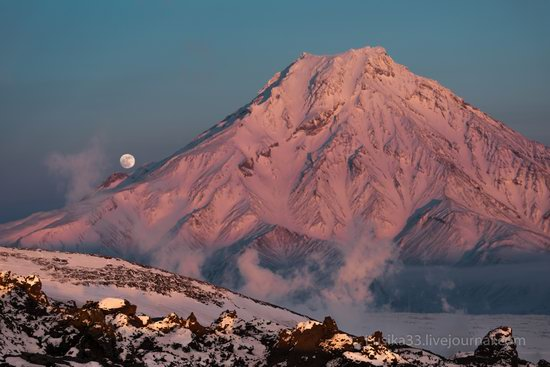 Tolbachik volcano eruption, Kamchatka, Russia, photo 2