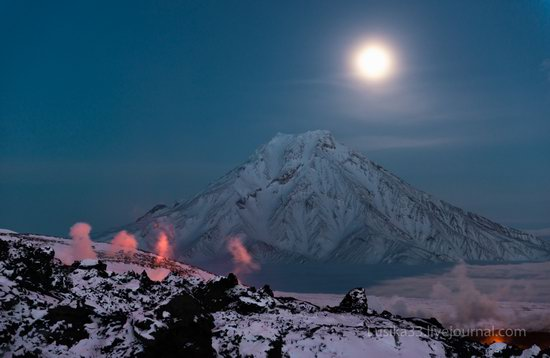 Tolbachik volcano eruption, Kamchatka, Russia, photo 4
