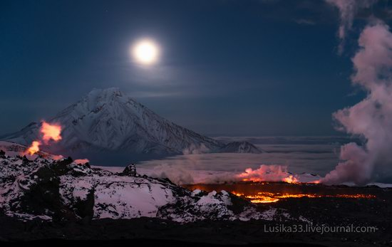 Tolbachik volcano eruption, Kamchatka, Russia, photo 5