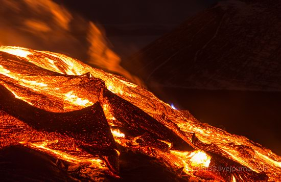 Tolbachik volcano eruption, Kamchatka, Russia, photo 6