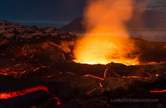 Tolbachik volcano eruption, Kamchatka, Russia, photo 8
