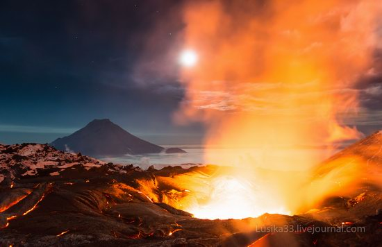 Tolbachik volcano eruption, Kamchatka, Russia, photo 9