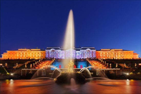 The Festival of Fountains in Peterhof, St. Petersburg, Russia, photo 1
