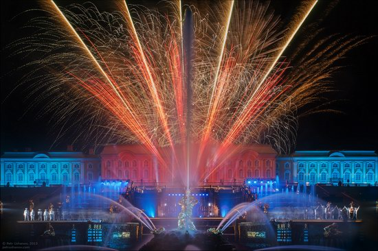The Festival of Fountains in Peterhof, St. Petersburg, Russia, photo 13