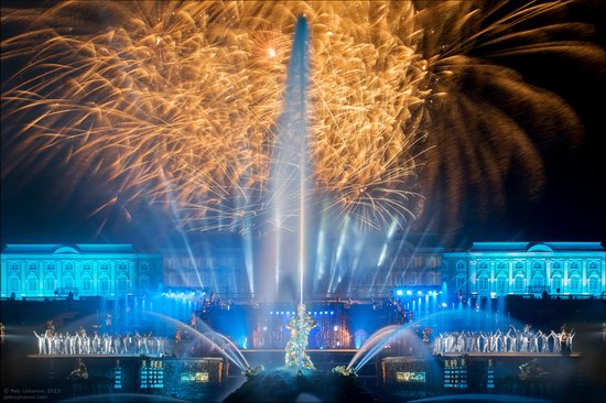 The Festival of Fountains in Peterhof, St. Petersburg, Russia, photo 16