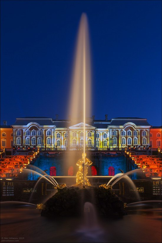 The Festival of Fountains in Peterhof, St. Petersburg, Russia, photo 17