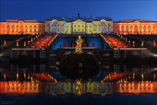 The Festival of Fountains in Peterhof, St. Petersburg, Russia, photo 4