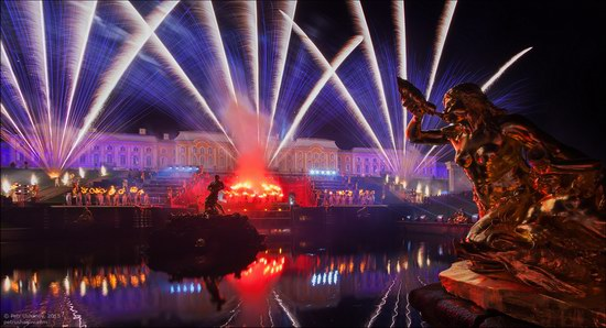 The Festival of Fountains in Peterhof, St. Petersburg, Russia, photo 9