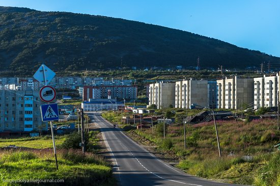 Magadan on a sunny summer day, Russia, photo 10