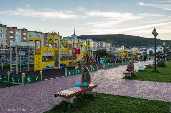 Magadan on a sunny summer day, Russia, photo 14