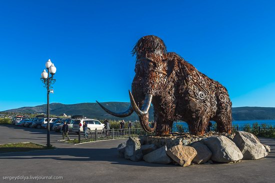 Magadan on a sunny summer day, Russia, photo 2