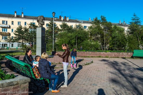 Magadan on a sunny summer day, Russia, photo 22