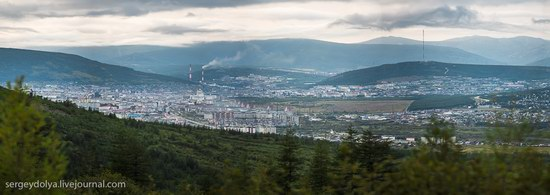 Magadan on a sunny summer day, Russia, photo 3