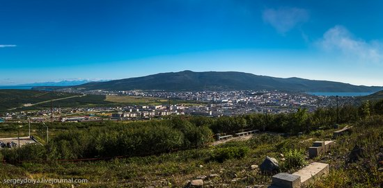 Magadan on a sunny summer day, Russia, photo 4