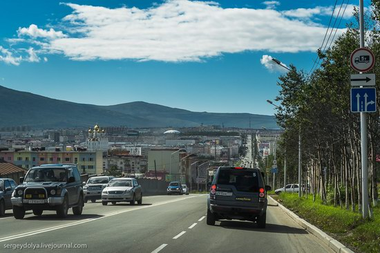 Magadan on a sunny summer day, Russia, photo 5