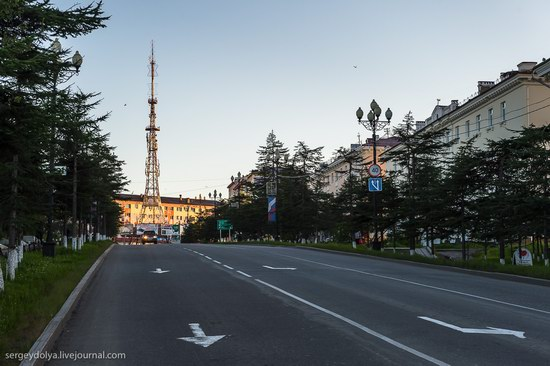 Magadan on a sunny summer day, Russia, photo 6