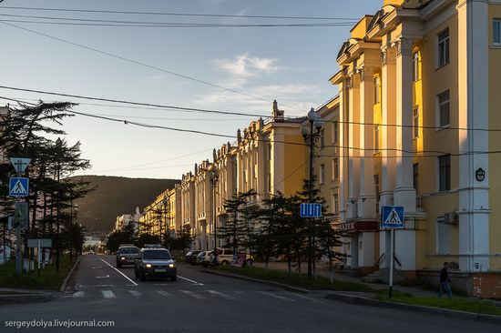 Magadan on a sunny summer day, Russia, photo 8
