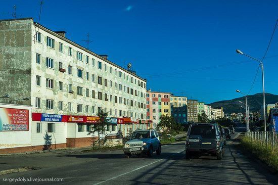 Magadan on a sunny summer day, Russia, photo 9