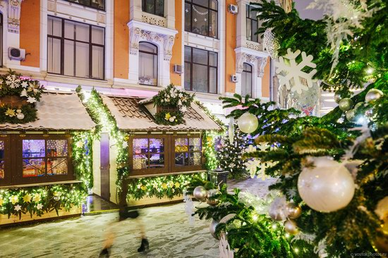 The center of Moscow decorated for New Year holidays, Russia, photo 14