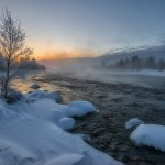 Winter fairytale of the Kola Peninsula