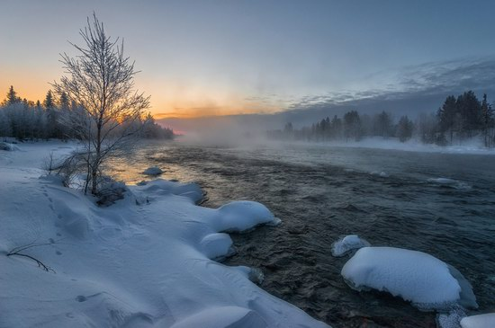 Winter fairytale of the Kola Peninsula, Russia, photo 1